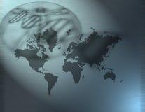 Salute del mondo illustrazione vettoriale