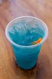 Salute di colore dell'acqua potabile Immagini Stock