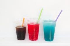 Salute di colore dell'acqua potabile Fotografia Stock