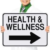 Salute e wellness immagini stock