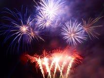 Salute, fireworks Stock Photos