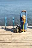Salute, forma fisica, yoga fotografie stock libere da diritti