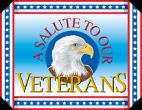 A Salute To Our Veterans Royalty Free Stock Photography