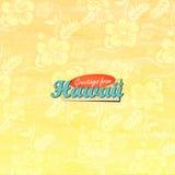 Saluti dalle Hawai Immagine Stock Libera da Diritti