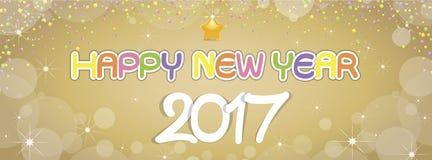 Saluti del buon anno del fondo Immagini Stock Libere da Diritti