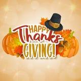 Saluti di giorno di ringraziamento Fotografia Stock