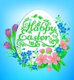 Saluti di Pasqua Fotografie Stock