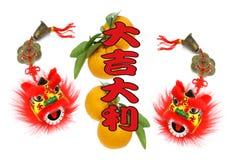 Saluti lunari cinesi di nuovo anno Fotografie Stock Libere da Diritti
