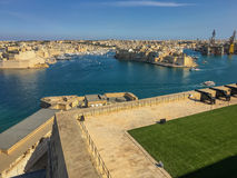 The Saluting Battery. In Valletta, Malta Royalty Free Stock Photo