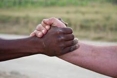 Saluto africano Fotografia Stock Libera da Diritti