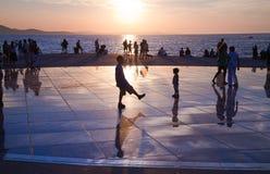 Saluto al Sun, Zadar, Croatia Fotografia Stock Libera da Diritti