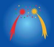 Saluto celebratorio. Fotografia Stock Libera da Diritti
