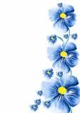 Saluto del fiore Fotografie Stock