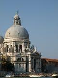 Saluto della Santa Maria Della dei Di della basilica - Venezia, AIS Immagini Stock