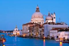 Saluto della Santa Maria Della, Venezia Immagini Stock