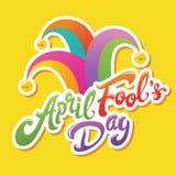 Saluto di April Fools Day Immagini Stock Libere da Diritti