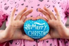 Saluto di Buon Natale fotografia stock