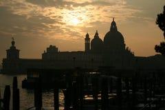 Saluto di della della Santa Maria della basilica Fotografia Stock