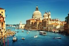 Saluto di della di Santa Maria della basilica, Venezia, Italia Fotografie Stock Libere da Diritti
