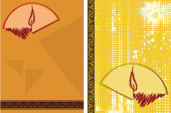 Saluto di Diwali Fotografia Stock Libera da Diritti