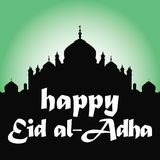 Saluto di Eid Mubarak Immagine Stock