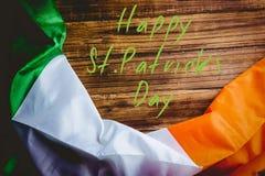 Saluto di giorno della st Patricks fotografie stock libere da diritti