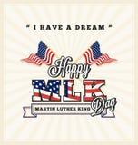 Saluto di giorno di Martin Luther King Fotografia Stock Libera da Diritti