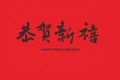 Saluto di nuovo anno Fotografia Stock