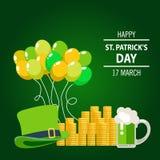 Saluto felice di giorno del ` s di St Patrick Fotografia Stock Libera da Diritti