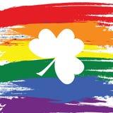 Saluto felice di giorno del ` s di St Patrick Immagini Stock Libere da Diritti