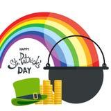 Saluto felice di giorno del ` s di St Patrick Fotografia Stock