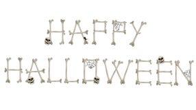 Saluto felice di Halloween Immagine Stock Libera da Diritti