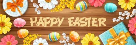 Saluto felice di Pasqua illustrazione vettoriale