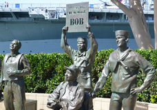 Saluto nazionale a Bob Hope immagine stock