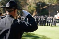 Saluto a voi tutto il #2 - LAPD Fotografia Stock Libera da Diritti