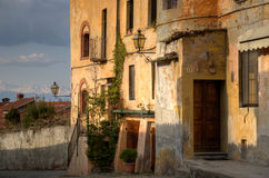 Saluzzo - Italien Fotografering för Bildbyråer