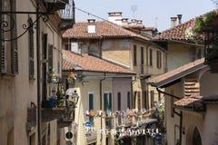 Saluzzo, Piedmont, Italy, historic city royalty free stock photography