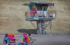Salva-vidas em Torrey Pines Foto de Stock