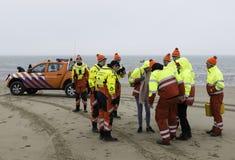 A salva-vidas prepara-se Imagem de Stock Royalty Free