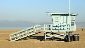 Salva-vidas Stand de Califórnia na praia Fotos de Stock