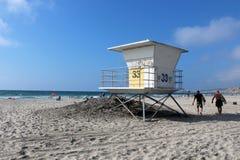 Salva-vidas Station de La Jolla Fotos de Stock Royalty Free