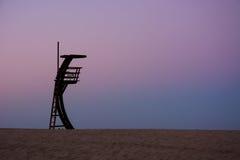 Salva-vidas Tower Fotografia de Stock