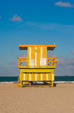 Salva-vidas Tower, Miami Beach Foto de Stock Royalty Free