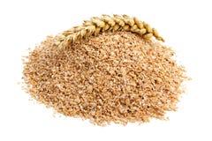 Salvado de trigo Foto de archivo libre de regalías