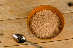 Salvado del desayuno Imagen de archivo libre de regalías