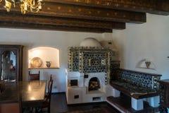 SALVADO, TRANSYLVANIA/ROMANIA - 20 DE SEPTIEMBRE: Vista interior de Dracmas imagenes de archivo