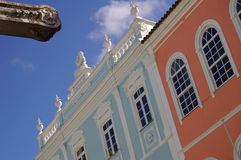 Salvador. Front house royalty free stock images