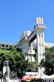 Salvador, Bahia, Brasilien am 27. Februar 2013: Der Lacerda-Aufzug lizenzfreies stockbild