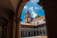Salvador, Bahia, Brazil: The Church of San Francisco is located on the square of Pras Anchieta in the city center Salvador da. Salvador, Bahia, Brazil: The royalty free stock photos