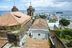 Salvador Bahia Brazil Colonial Architecture Skyline Stock Photos